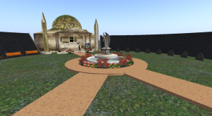 The Transgender memorial in Second Life