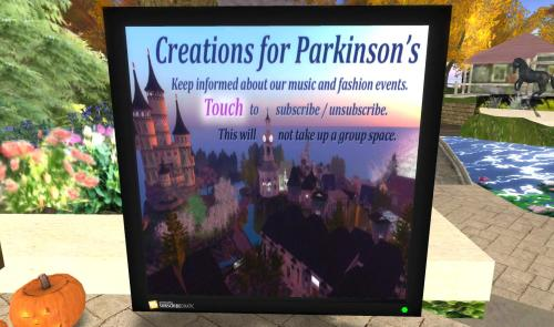 Creations for Parkinsons