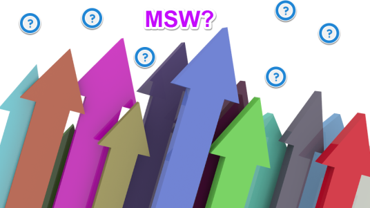 Many arrows and question marks, and MSW?